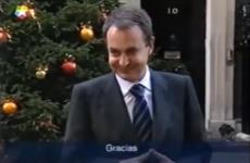 politicos españoles hablando ingles