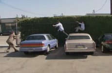 the office parkour