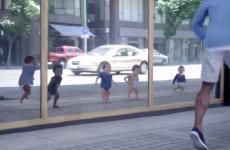 espejo magico bebes divertidos bailando