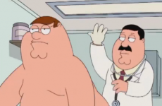 peter griffin examen de prostata