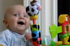 vídeos de risa de bebés
