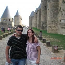 el mejor SEO de España con su hermana en Carcassone